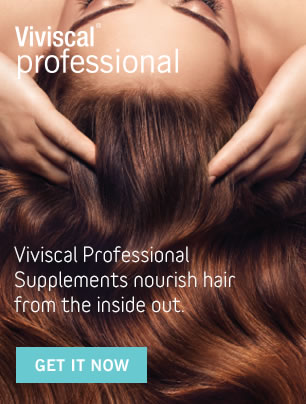 Viviscal Professional Supplements nourish hair from the inside out.